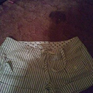 Abercrombie & Fitch striped shorts, size 4